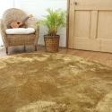 Круглый пушистый ковёр песочного цвета JumKids Sweet Sand