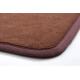 Коричневый прямоугольный ковер JumKids с коротким ворсом
