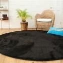 Черный ковер круглой формы JumKids Sweet Black - Япония