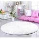 Белый розовый ковер Sweet White