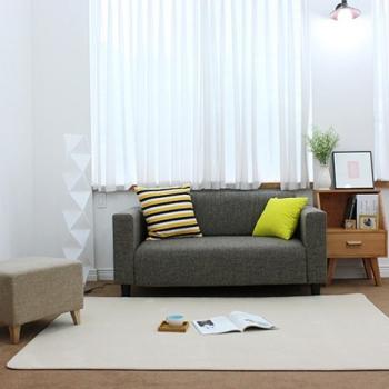 Бежевый прямоугольный ковер JumKids Moco Premium Beige