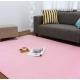 Розовый ковер с коротким ворсом Moco Premium Pink