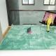 Бирюзовый мятный ковер цвета морской волны